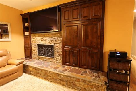 trim around fireplace stacked fireplace with the bullnose trim around the