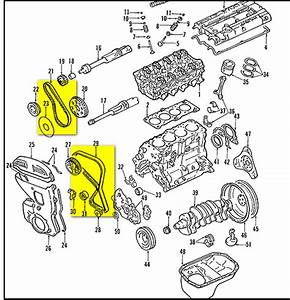 2009 Hyundai Accent Timing Belt Diagram