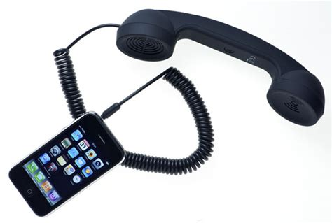 retro handset for cell phone moshi moshi retro handset for all mobile phones
