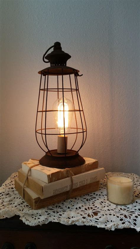 brown rustic lantern l shabby light from thepinktoolbox on