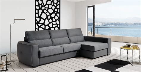 Leather Sleeper Sectional Sofa by Roy Reversible Top Grain Leather Sectional Sleeper Sofa In
