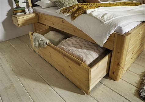 Während des wöchentlichen hausputzes kann der bettrahmen mit dem staubtuch abgewischt werden. Massivholz Schubladen-bett 100x200x49 cm Kiefer 2 Schubladen li.holz Einzelbett | eBay