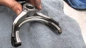 Manual Transmnission Worn Shift Fork