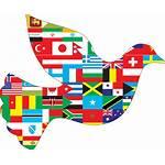 Peace International Clipart Vrede Clip Transparent Nations