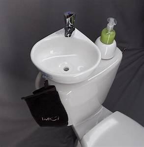 Petit Lave Main Wc : montage facile d 39 un lave main sur wc ~ Premium-room.com Idées de Décoration