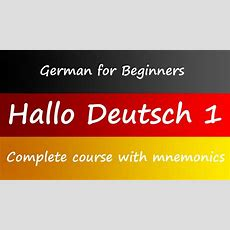 Learn German Online  Book And Course For Beginners Youtube