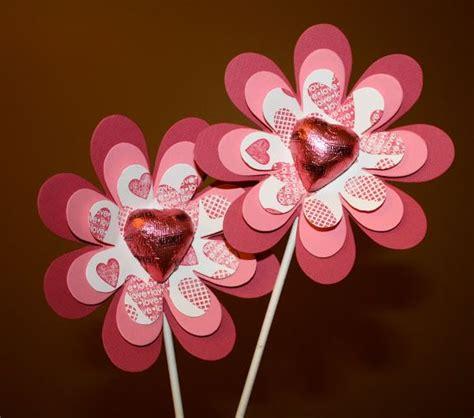 diy valentines flowers    valentines pencils