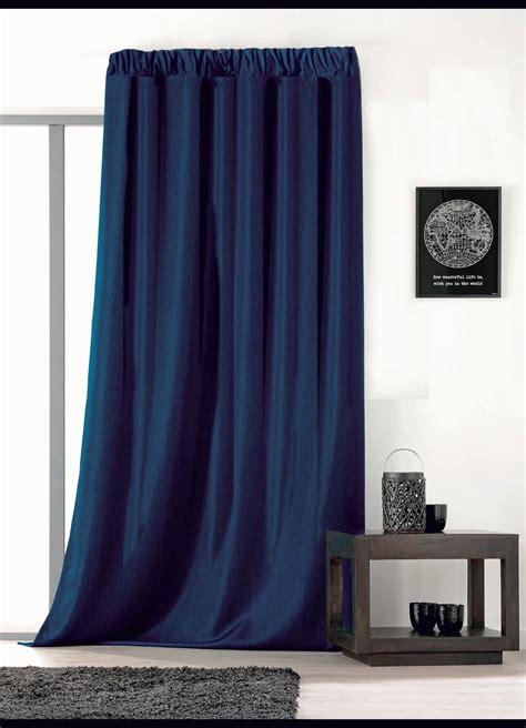 rideau uni avec galon fronceur ficelle beige bleu gris vert homemaison