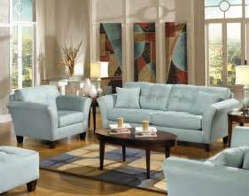 furniture light blue sofa light blue fabric modern sofa loveseat set w wood legs