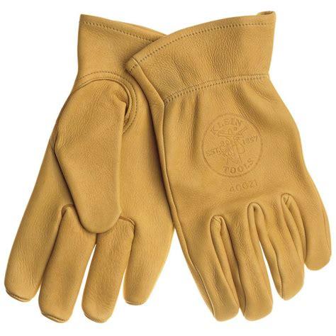 Cowhide Work Gloves  Medium40021  The Home Depot