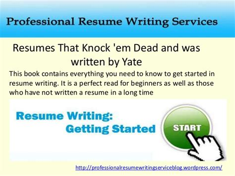 4 great books on resume writing