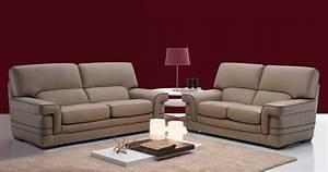 Ensemble canapes 32 en cuir buffle hendrix for Formation decorateur interieur avec salon du cuir