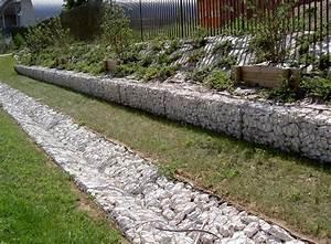 Mur En Gabion : ma onnerie paysag re g nie civil ~ Premium-room.com Idées de Décoration