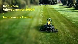 Autonomous John Deere Fairwaymower 8900 A