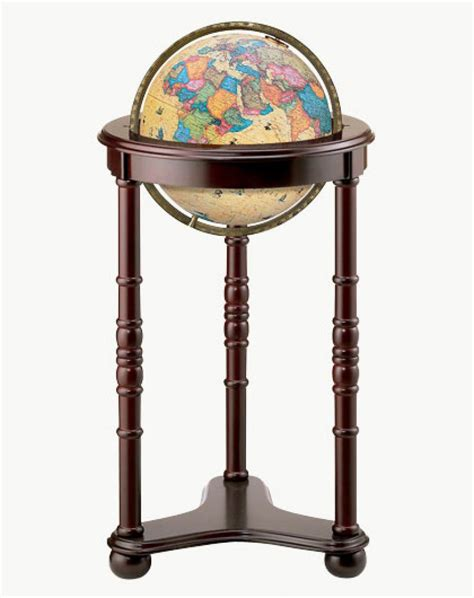 floor l globes clockway 12in replogle lancaster antique illuminated floor globe crp1341