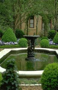 Landscape, Fountain, Design, Ideas, For, Side, Yard