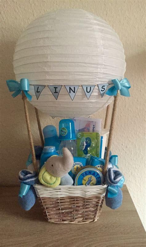 Geschenk Zur Geburt Heißluftballon  G E S C H E N K E