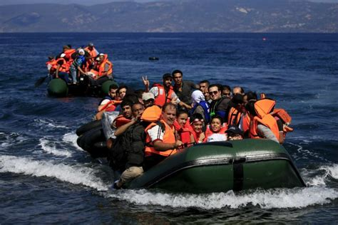 Syrian Refugees Boat by Make That Seven