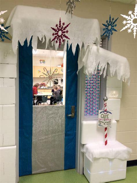 winter wonderland classroom door ran    speech