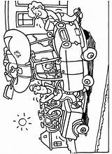 Caravan Knutselen Zomerknutsels sketch template