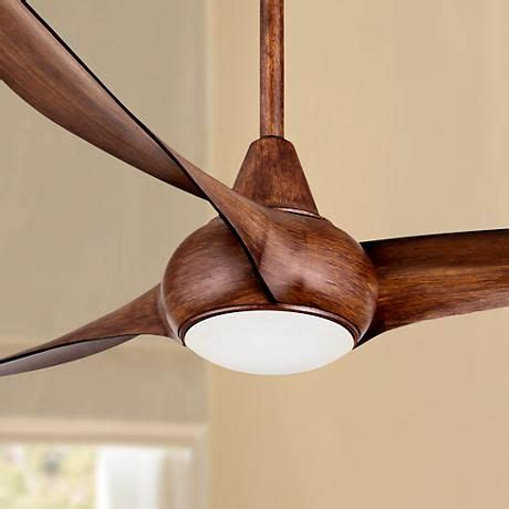 ceiling fan power consumption 52 quot minka aire light wave distressed koa ceiling fan