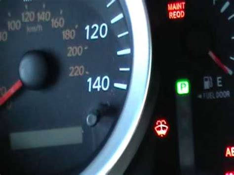 toyota rav4 maintenance required light meaning how to reset the maint reqd light on a toyota tacoma after