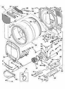 Bulkhead Parts Diagram  U0026 Parts List For Model 11087892601 Kenmore