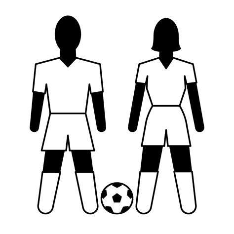 soccer team clipart black and white soccer player clipart clipart panda free clipart