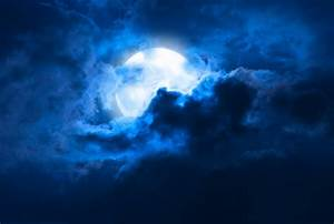 Image Gallery moonlit night sky