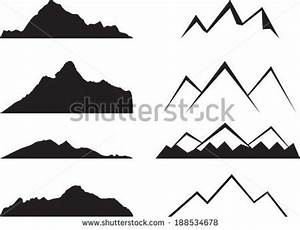 Mountain Black And White Drawing | Clipart Panda - Free ...