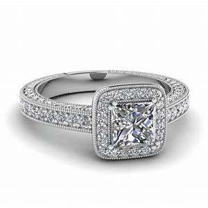 princess cut vintage engagement rings fascinating diamonds With princess style wedding rings