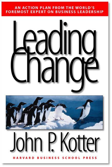 Kotter Change Management Book summary of leading change by john p kotter ignition blog