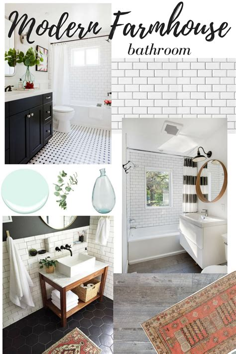 ideas for modern bathrooms dreaming of modern farmhouse bathroom remodel newman 39 s nest