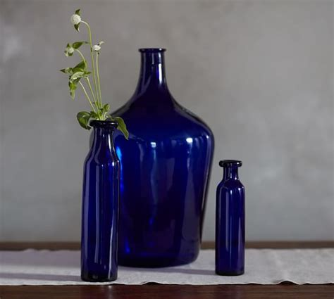 cobalt vases luxe living room square glass vase vases