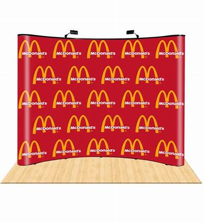 Backdrop Repeat Step Booth Dxpdisplay 10ft Curved