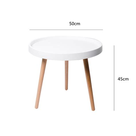 Only 1 available and it's in 7. Coffee Tables Side Table Round Solid Wood Modern Minimalist Sitting Room Corner Creative Home ...