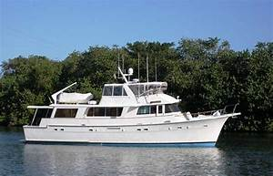 70 Hatteras Trawler For Sale Long Range Cruiser