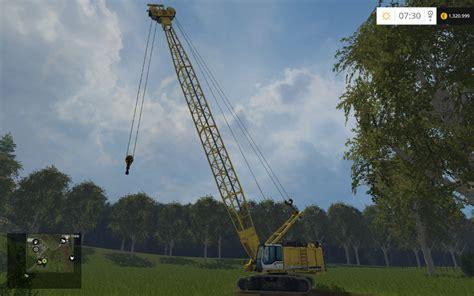 liebherr crawler crane hshd   ls  farming
