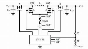 4 switch buck boost converter power supply circuit With buck boost circuit