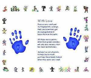 Hand prints, Poem and Hands on Pinterest