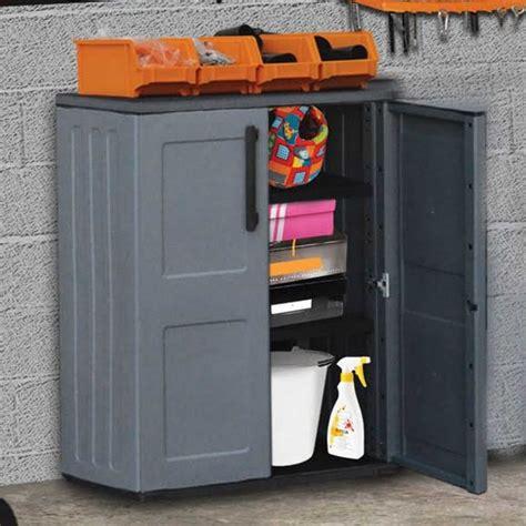 shire small plastic storage unit garden street