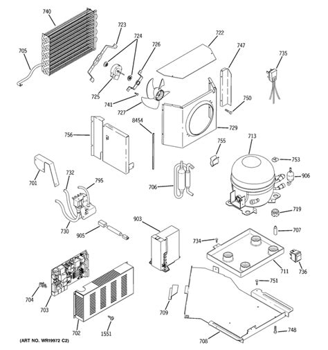 ge monogram refrigerator  cooling