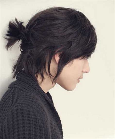 Korean Hairstyle Men Long Hair Korean Male Long Hairstyles
