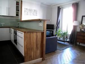 meuble de sparation cuisine salon meubles scandinaves With meuble de salle a manger avec cuisine americaine