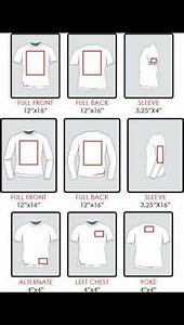 Gildan Tee Color Chart Chart Re Sizing Of Decals For Shirts Silhouette