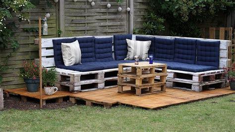 canape exterieur bois canape d 39 exterieur en bois canapé idées de décoration