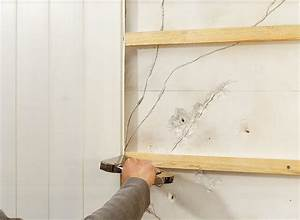Pose De Lambris Bois : chapitre 3 la pose sur mur pose au plafond grosfillex ~ Premium-room.com Idées de Décoration