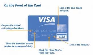 Issue Number On Visa Debit Card
