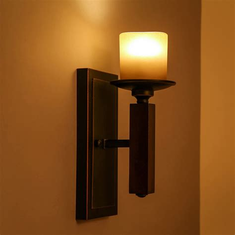 give your room an interesting twist with candle light wall
