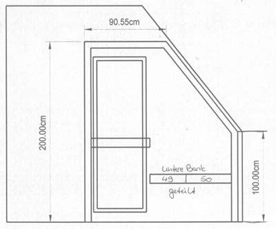 Sauna Dachschräge Grundriss by Sauna Dachschr 228 Ge Grundriss Schwimmbad Und Saunen